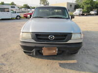 2001 Mazda B-Series Pickups Pickup Truck-E-test and Safety