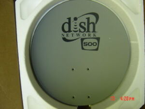 Dish Network 500 Satellite Antenna REFLECTOR Replacement ONLY 110 119 Free Ship