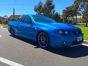2003 Ford Performance Vehicles Pursuit BA Blue 4 Speed Sports Automatic Utility North Brighton Holdfast Bay Preview