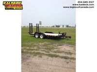 2012 H&H 16' Industrial Line Flatbed Trailer