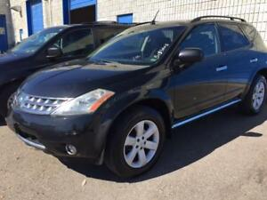 2006 NISSAN MURANO SL AWD/ACCIDENT FREE/SUNROOF/ALLOYS/BLACK!