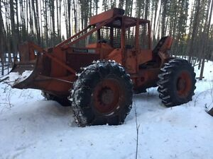 Timberjack 350 cable skidder