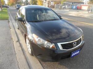 2008 Honda Accord Sdn EX-L, Leather, 160k , Accident Free $6995