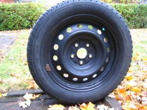 4x Michelin X-Ice 205/55R16 + Rims (5x114.3mm)