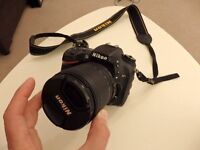 Nikon D7100 SLR Camera in immaculate condition