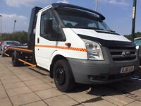 stunning transit recovery truck with winch and ramps included! great value with no vat!