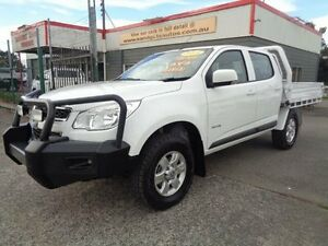 2013 Holden Colorado RG LT (4x4) White 5 Speed Manual Crew Cab P/Up Sandgate Newcastle Area Preview