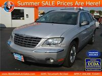 2004 Chrysler Pacifica FWD SUV with LEATHER for 6 PASSENGERS