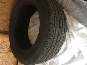 SET OF NEARLY NEW SUMMER  TYRES 235/55R17 99H mitchelin