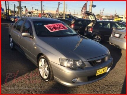 2004 Ford Falcon BA XR6 Grey 4 Speed Auto Seq Sportshift Sedan Lansvale Liverpool Area Preview