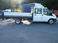 2011 Ford Transit Double Cab dropside115 bhp