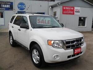 2010 Ford Escape XLT| NO ACCIDENTS| MUST SEE| NO RUST|SAT SYSTEM