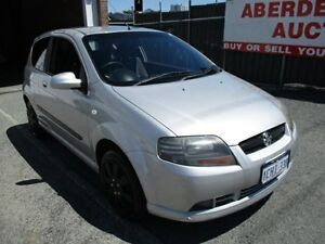 2007 Holden Barina TK MY07 Silver 5 Speed Manual Hatchback West Perth Perth City Area Preview