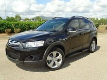 2012 Holden Captiva CG MY12 7 CX (4x4) Black 6 Speed Automatic Wagon Bungalow Cairns City Preview