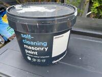 Self cleaning masonry paint (White - Oklahoma)