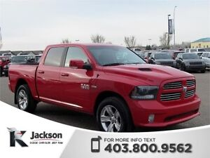 2015 Ram 1500 Sport - Heated/Ventilated Leather Seats