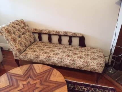 Antique Chaise Lounge Earlwood Canterbury Area Preview