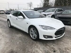 2015 Tesla S 70D AWD CUIR AUTO PILOT MAGS CHARGEUR