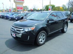 2013 FORD EDGE SEL - PANORAMIC SUNROOF, REAR VIEW CAMERA, BACKUP