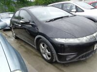 2008 57 reg honda civic se i,ctdi 2.2 diesel mot for 1 year ex we car psh £1595