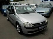 2002 Holden Barina XC Silver 4 Speed Automatic Hatchback Victoria Park Victoria Park Area Preview