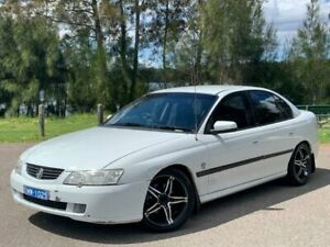 2003 Holden Commodore VY Acclaim White 4 Speed Automatic Sedan Lansvale Liverpool Area Preview