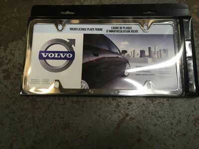 Genuine Volvo License Plate Frame 8640262
