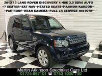 2013 13 Land Rover Discovery 4 3.0 SDV6 HSE Automatic 255BHP~7 Seater~