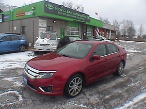 2012 Ford Fusion SEL, LOCAL, LIKE NEW, LOADED, CERTIFIED, LOW K