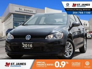 2016 Volkswagen Golf Trendline 1.8TSI, BLUETOOTH, HEATED SEATS,