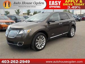 2011 Lincoln MKX LEATHER NAVI B CAM PANO ROOF EVERYONE APPROVED