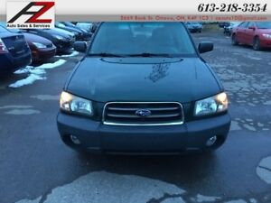 """2005 Subaru Forester X,X """"This vehicle is being sold """"as is,"""" un"""