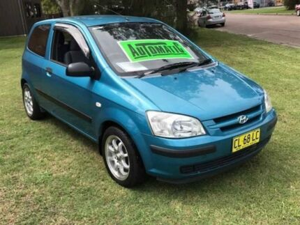 2003 Hyundai Getz TB FX Teal Blue 5 Speed 5 SP MANUAL Hatchback