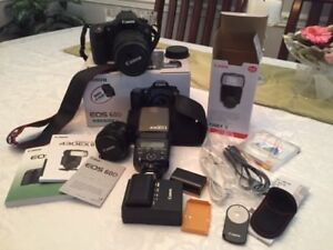 CANON 60D AND ACCESSORIES-MINT CONDITION