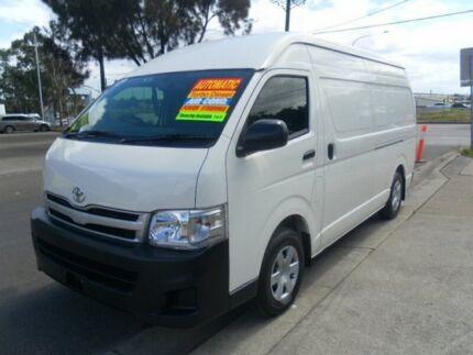 2012 Toyota Hiace SLWB Automatic Van