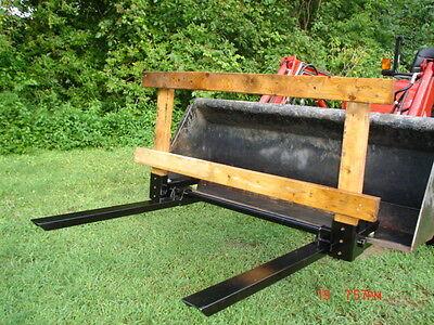 Tractor Forks Bucket Forks Loader Forks Stake Rack Skid