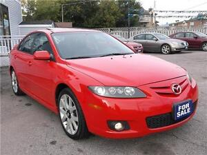 2006 MAZDA MAZDA6 GT * POWER GLASS ROOF * LEATHER * LOADED *