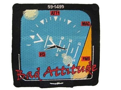 USAF Tennessee Air Guard Force 134th KC-135 Refueler Bad Attitude Nose Art Patch Air Force Kc 135