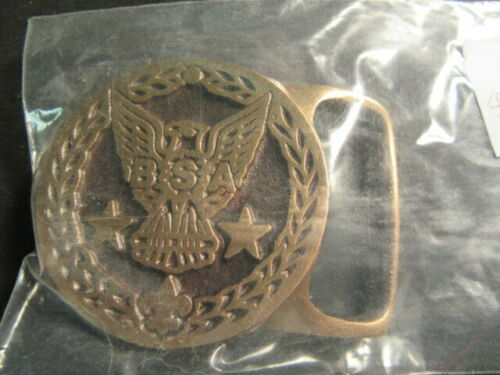 Max Silber Eagle Scout Belt Buckle,    c76