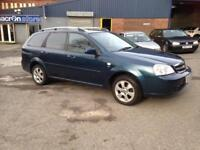 *REDUCED* AUTOMATIC ESTATE 58reg CHEVROLET LACETTI 1.8 - LONG MOT