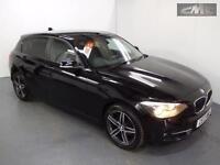 BMW 1 SERIES 118D SPORT, Black, Manual, Diesel, 2013