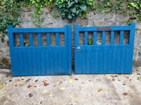 Wooden Driveway Gates VGC