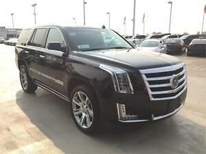 2015 Cadillac Escalade Premium (Just under 29,000 kms) Black