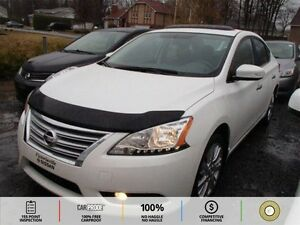 2013 Nissan Sentra 1.8 SV LEATHER! HTD SEATS! NAVI! BT!
