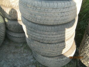4  225-60-16  Michelin x Radial All Season, on Chev Impala  Rims