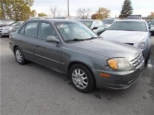 2005 Hyundai Accent GL PW PL AC AS-TRADED RUNS GREAT AS-IS