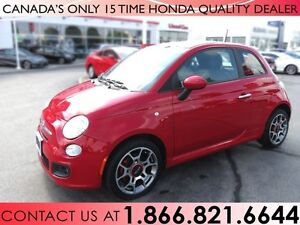 2013 Fiat 500 SPORT   1 OWNER   NO ACCIDENTS
