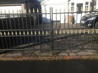 Iron gates and posts