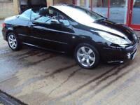 2008 58 PEUGEOT 307 1.6 ALLURE COUPE CABRIOLET 2D 108 BHP
