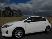 2013 Toyota Corolla ZRE182R Ascent White 7 Speed CVT Auto Sequential Hatchback Blacktown Blacktown Area Preview